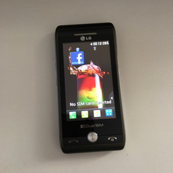 Used LG dual sim GX500 in Dubai, UAE