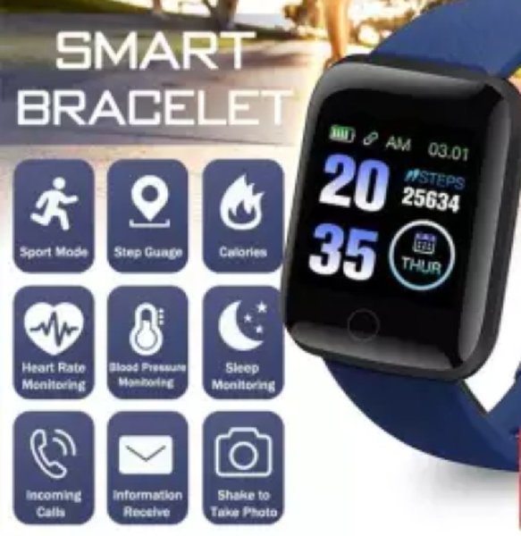 Used Smart bracelet new blue ♡♡ in Dubai, UAE