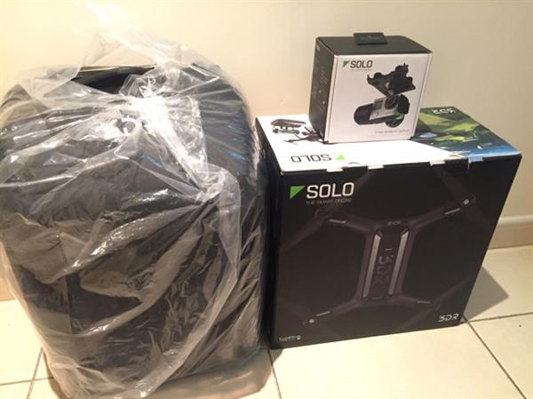 Used 3dr Solo Brand New Drone (back Pack Gimbal Not Included) in Dubai, UAE