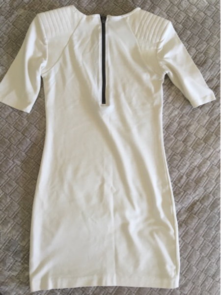 Used Divided Exclusive for H&M offwhite dress in Dubai, UAE