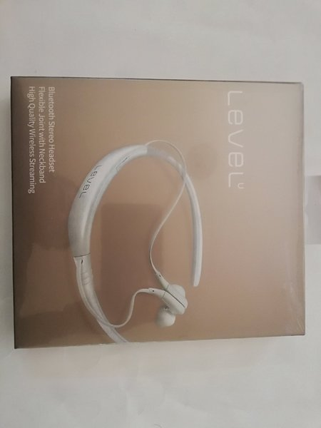 Used Bluetooth In-Ear Headset Level U White in Dubai, UAE