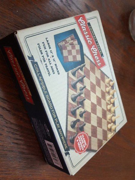 Used Collapsible Travel Chess Set in Dubai, UAE