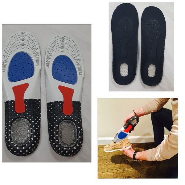 Used 3D ankle support XL and orthotic insoles in Dubai, UAE