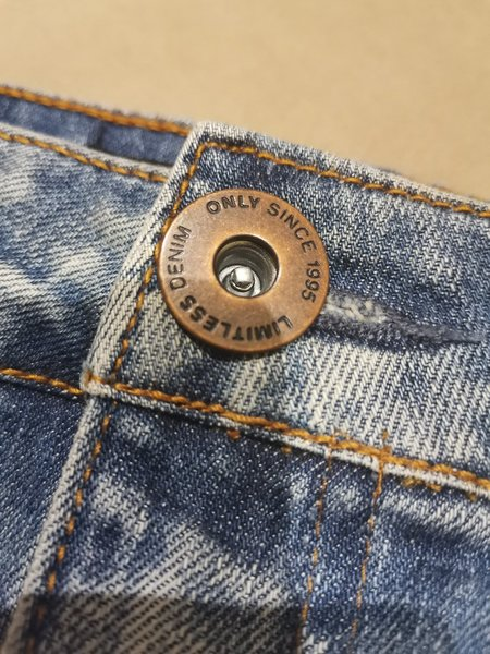 Used Jeans Short skirt from only size w26 in Dubai, UAE