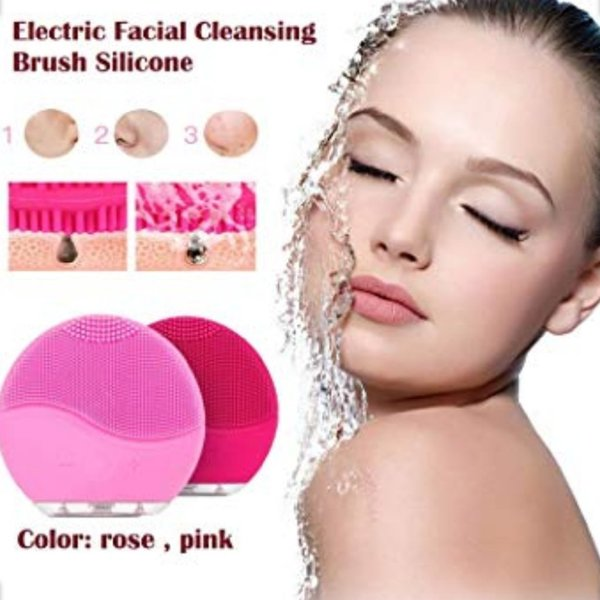 Used 2pcs-set Rechargeable Facial Cleansing in Dubai, UAE
