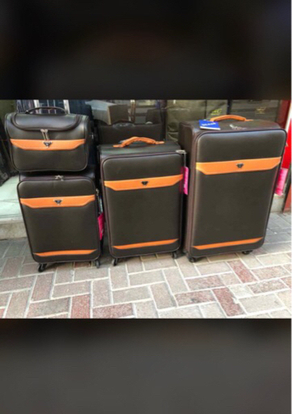 Used Eminen leather bag set  in Dubai, UAE
