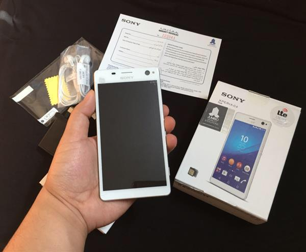 Used Unwanted Gift Brandnew Mobile Xperia C 4 with warranty in Dubai, UAE