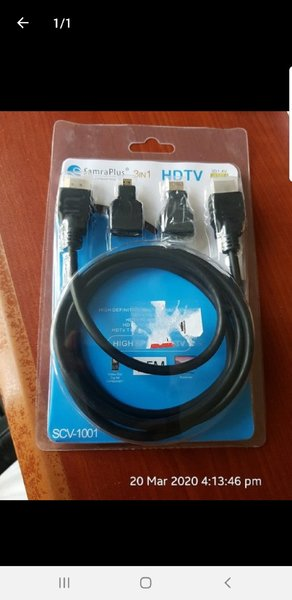 Used HDMI CABLE WITH CONVERTERS in Dubai, UAE