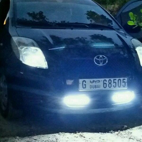 Used Toyota Yaris HB Full Automatic 2008 Mobel Very Good Condition  in Dubai, UAE