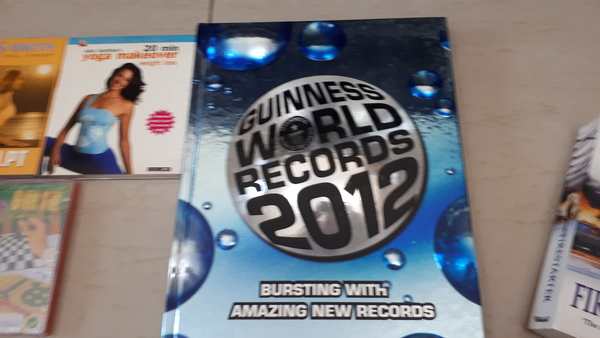 Used Old edition Guinness record in Dubai, UAE