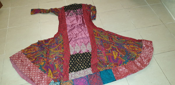 Used Embroidered party dress in Dubai, UAE