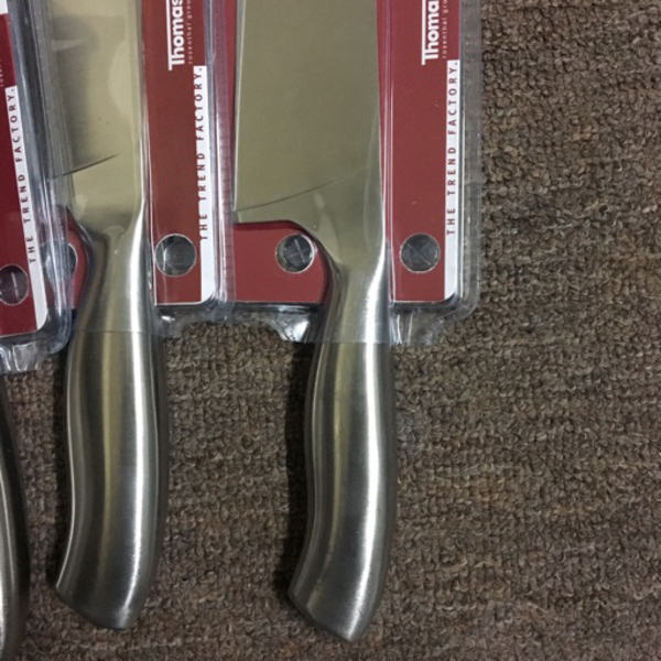 Used 3 x chef knives full Stainless steel in Dubai, UAE