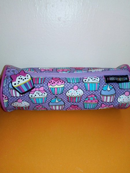 Used Cute pencil case with cupcakes in Dubai, UAE