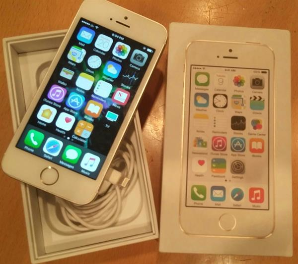 Used Iphone 5s Gold With Box in Dubai, UAE