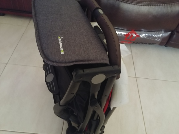 Used Brand New Stroller with Leather bar in Dubai, UAE