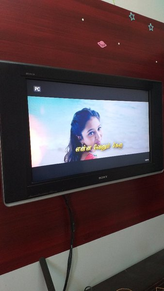 Used 32 Sony LCD with wall brackets and remot in Dubai, UAE