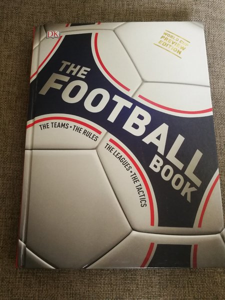 Used New. Football book. Hardcover 400 pages in Dubai, UAE