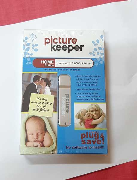 Used .Picture keeper ! Pictures backup device in Dubai, UAE