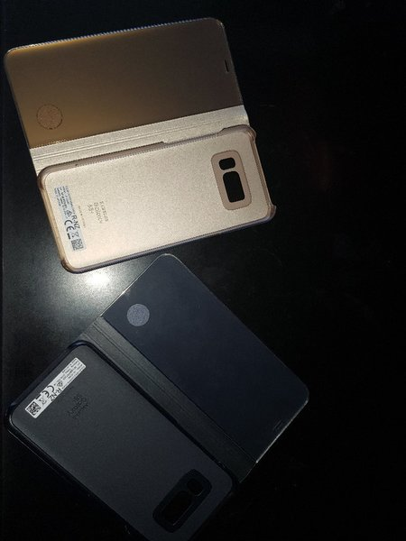 Used Galaxy s8 plus flip covers in Dubai, UAE