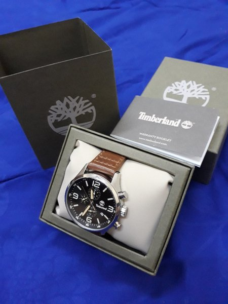 Timberland watch for mens (1 month used)