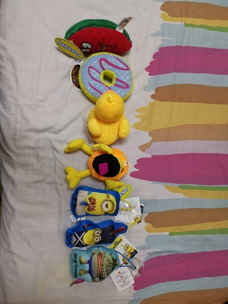 Used All toys 7 pcs in Dubai, UAE