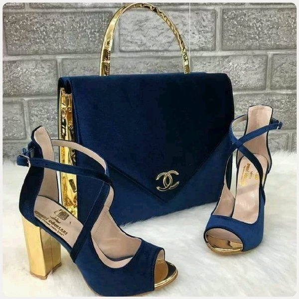 Used FABULOUS CHANNEL BAG WITH SANDAL in Dubai, UAE