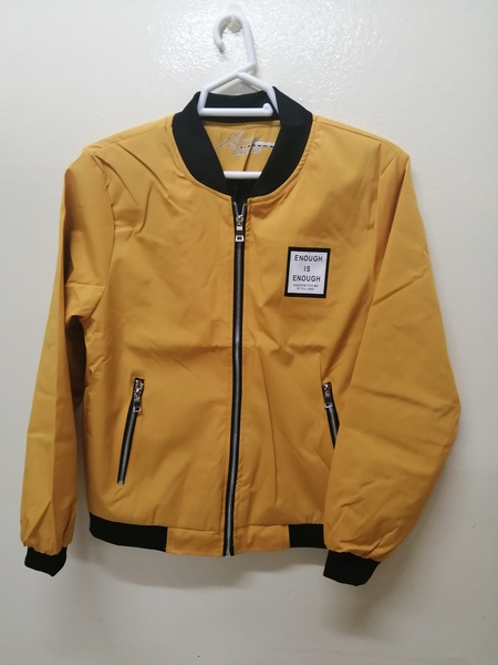 Used Zipper Padded Thin  Jacket in Dubai, UAE