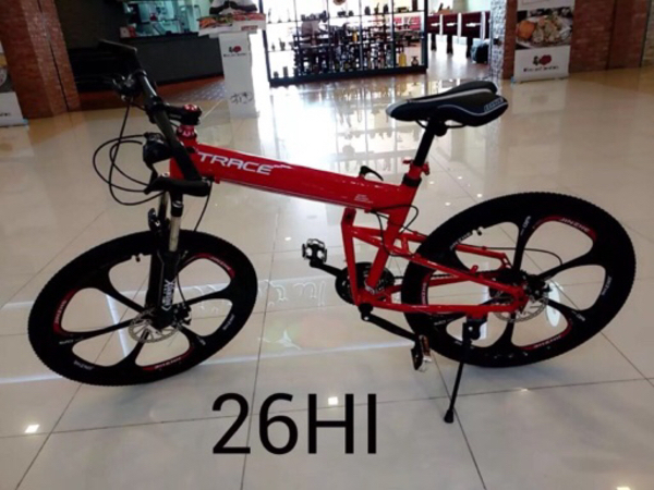 "Used New 26"" Trace Folding Alloy bicycle  in Dubai, UAE"