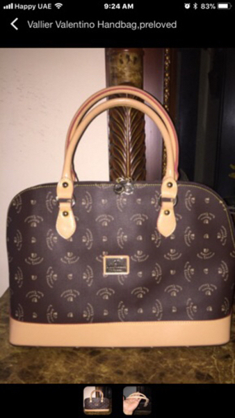 Used Valier Valentino preloved hand bag in Dubai, UAE