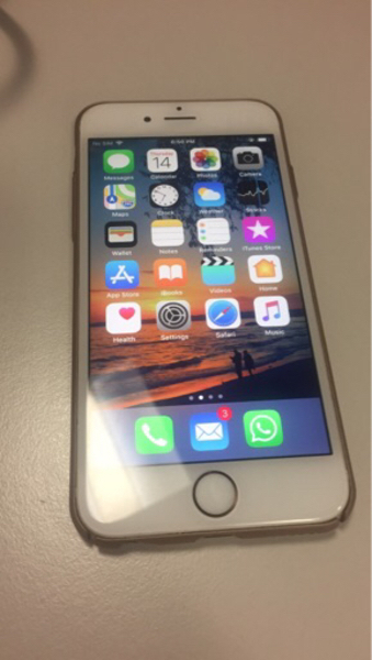 Used Iphone 6s 16GB gold color in Dubai, UAE