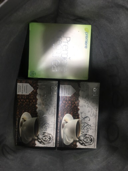 Used 8 in 1 ORGANIC COFFEE 20 Sachets in Dubai, UAE