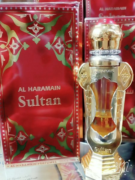 Used Haramain Sultan Atar Perfume - Original in Dubai, UAE