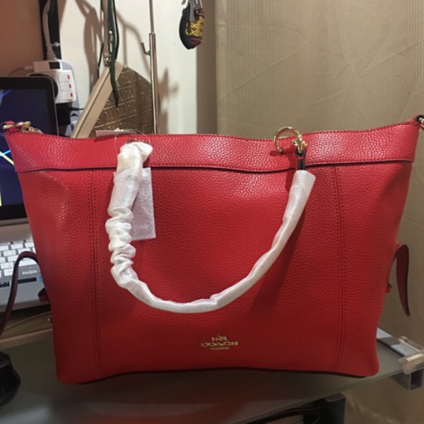 Used Coach LENOX in red in Dubai, UAE