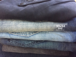 Used authentic designer jeans bundle, new in Dubai, UAE