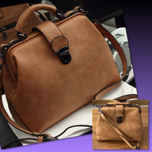 Used BROWN NEW RETRO DOCTORS BAG in Dubai, UAE