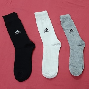 Used Adidas Men's Cushioned Quarter Socks in Dubai, UAE