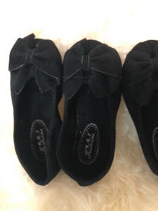 Used Flat girls shoes size 27 new 2 pairs in Dubai, UAE