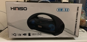 Used KMS1 outdoor bluetooth speaker high bass in Dubai, UAE