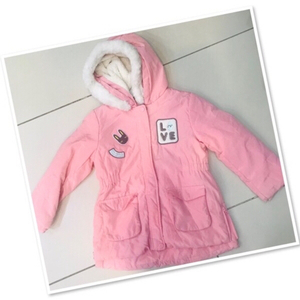 Used Hoodie pink for 1-2 yr old ♥️ in Dubai, UAE