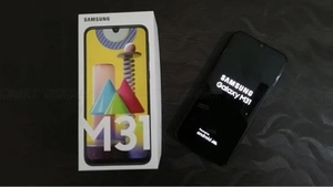 Used Samsung M31 6GB ram and 128GB box sealed in Dubai, UAE