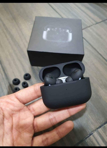 Used APPLE AIRPODS PRO BLACK WIRELESS NEW☑️ in Dubai, UAE