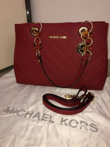 Used Michael Kors Red Tote Bag  in Dubai, UAE