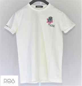 Used Stylish white T-shirt 100cotton new in Dubai, UAE