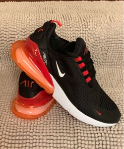 Used Nike Airmax 270 black/red size 43, new in Dubai, UAE