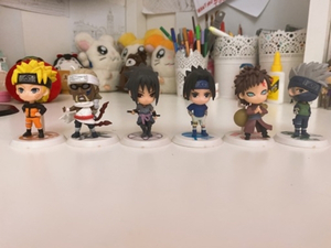 Used Naruto mine figures  in Dubai, UAE
