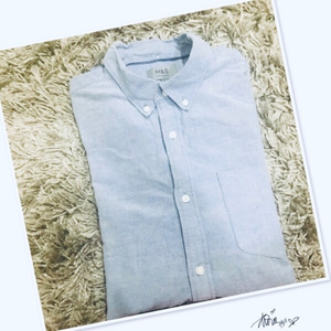 Used Marks & Spenser Long sleeve /large 💙 in Dubai, UAE