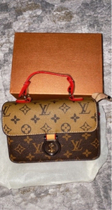 Used LV sling bag two tone copy in Dubai, UAE