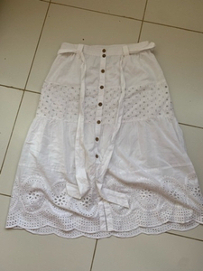 Used Broderie midi skirt  in Dubai, UAE