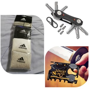 Used Ninja key + wallet ninja + 3 addidas 🧦 in Dubai, UAE