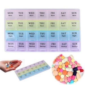 Used New medicine pill portable organizer box in Dubai, UAE
